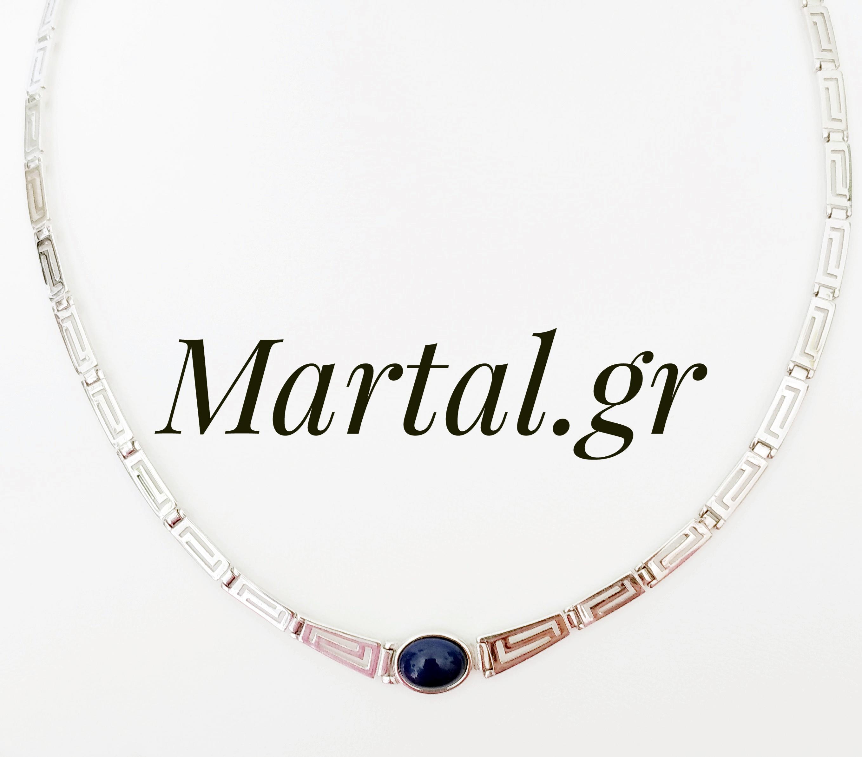 Κολιέ Μαίανδρος ή ελληνικό κλειδί - Martal.gr 6156aa4c694